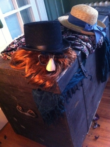 As children, while visiting with our grandparents, we'd go up to the 3rd floor to look in the costume trunk.